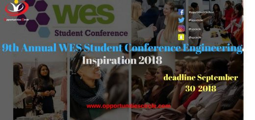 9th Annual WES Student Conference Engineering Inspiration 2018