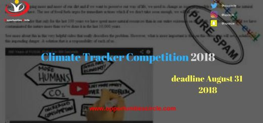Climate Tracker Competition 2018
