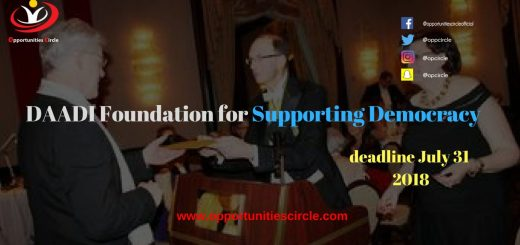 DADI Foundation Awards for Supporting Democracy