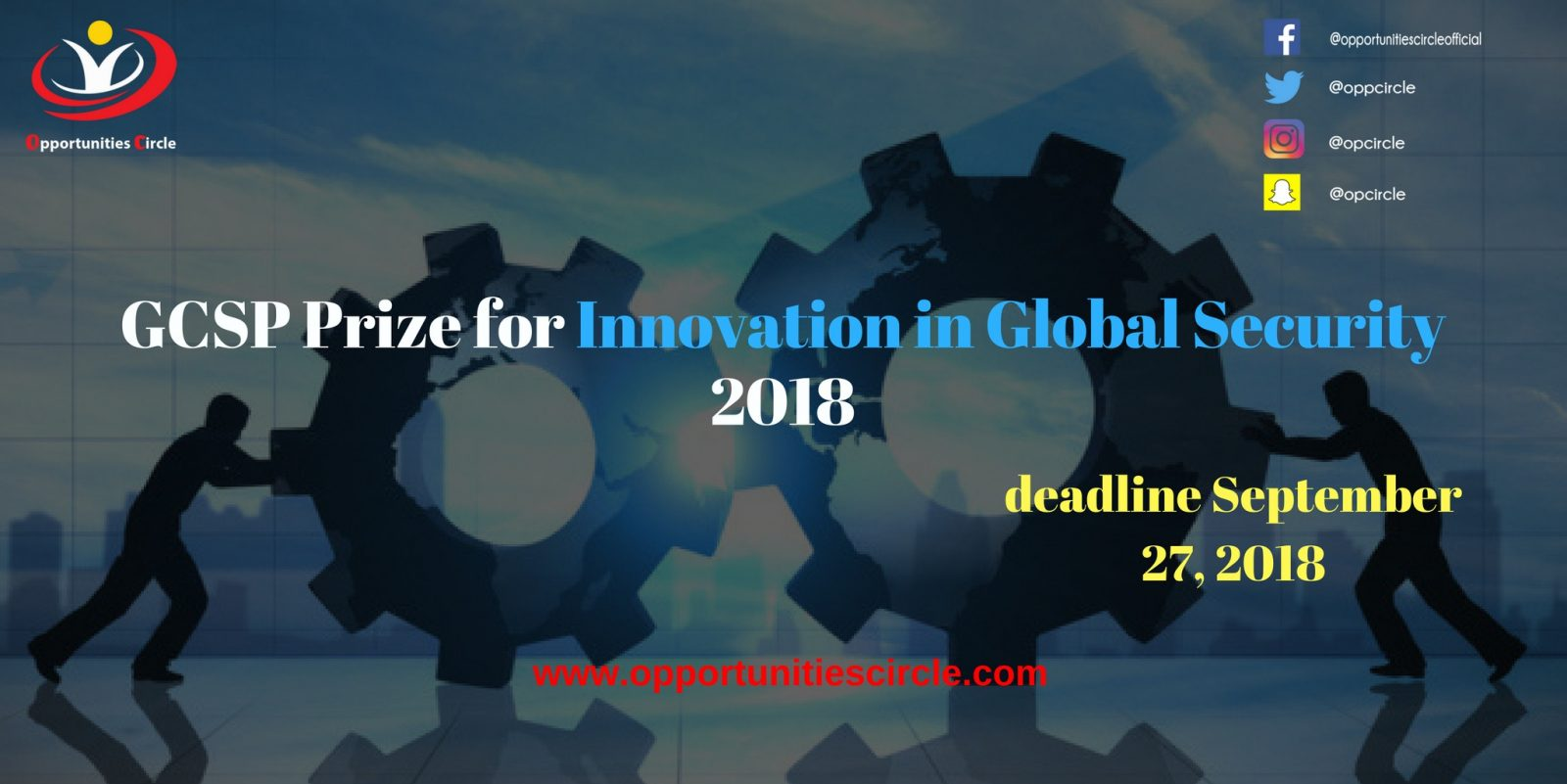 GCSP Prize for Innovation in Global Security 2018 - GCSP Prize for Innovation in Global Security 2018