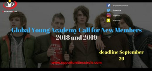 Global Young Academy Call for New Members 2018 and 2019