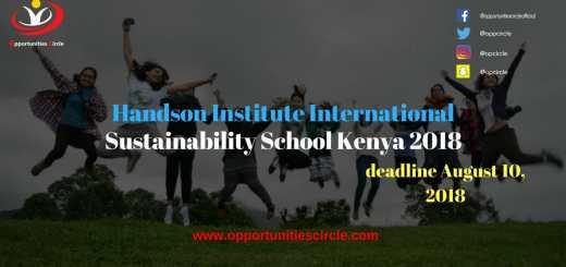 Handson Institute International Sustainability School Kenya 2018