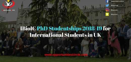 IBioIC PhD Studentships
