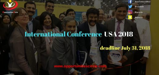 International Conference USA 2018