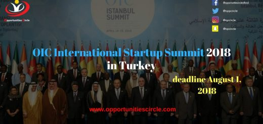 OIC International Startup Summit 2018