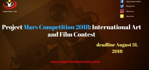 Project Mars Competition 2018: International Art and Film Contest