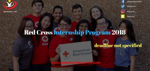 Red Cross Internship Program 2018 1 - Red Cross Internship Program 2018