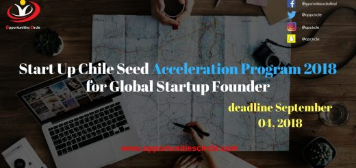 Start Up Chile Seed Acceleration Program 2018 for Global Startup Founder