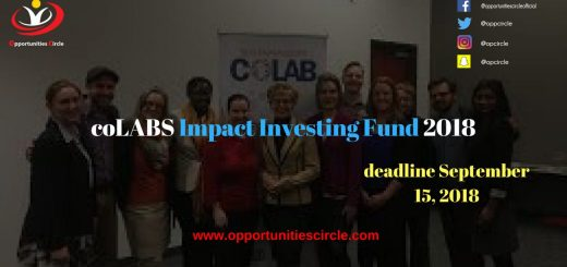 coLABS Impact Investing Fund 2018