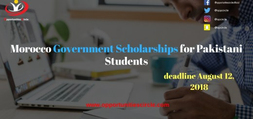 Morocco Government Scholarships for Pakistani Students