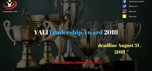 YALI Leadership Award 2018