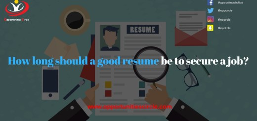 How long should a good resume be to secure a job?