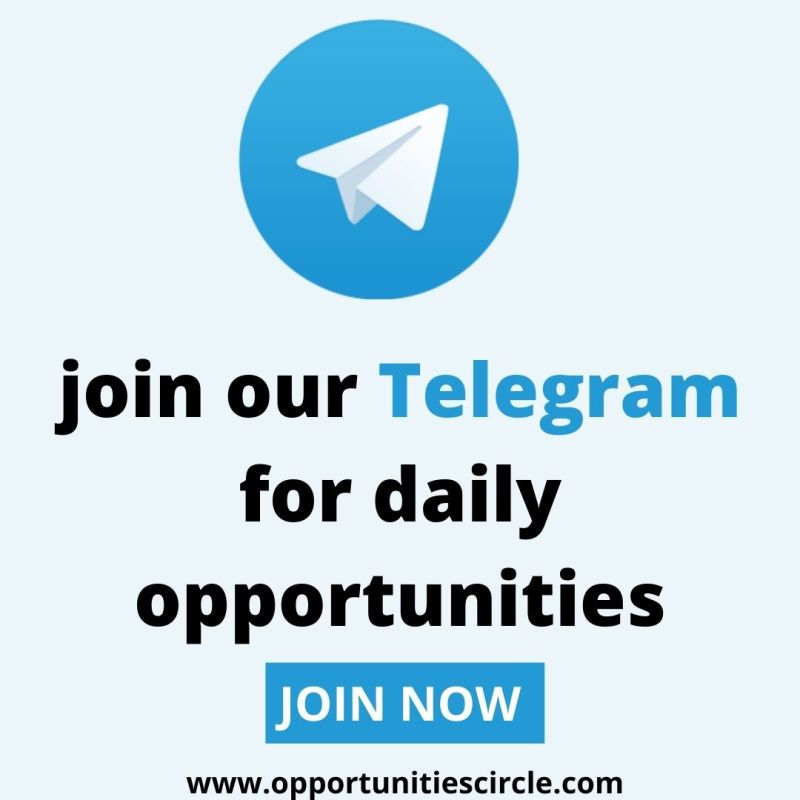 join telegram channel opportunitiescircle