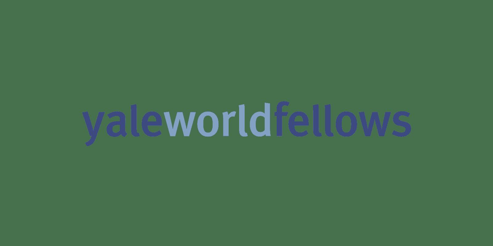 2016 Yale World Fellows Program for Mid-Career Emerging