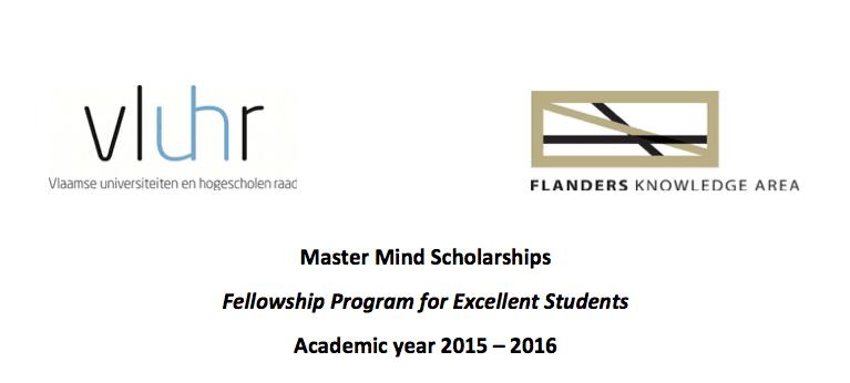 2015 Master Mind Scholarships Fellowship Program for