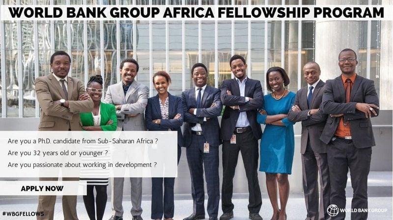 "Résultat de recherche d'images pour ""Apply Now: World Bank Group Africa Fellowship Program"""