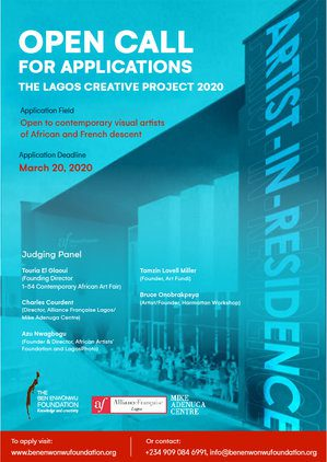 THE LAGOS CREATIVE PROJECT 2020