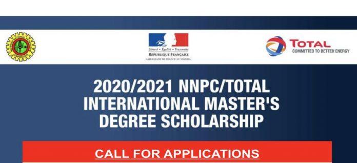 2021/2022 NNPC/Total International Master's Degree Scholarships