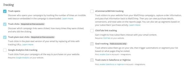 mailchimp metrics