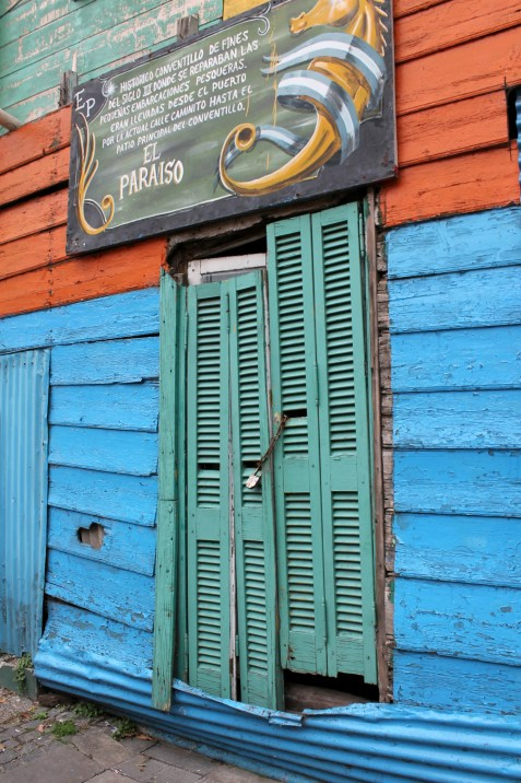 La Boca - coloured doors