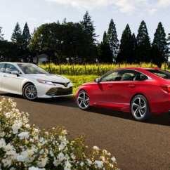 All New Camry Vs Accord Harga Grand Avanza E 2016 2018 Honda Toyota The Clash Of Samurai