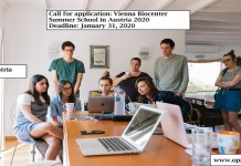 Call for application: Vienna Biocenter Summer School in Austria 2020