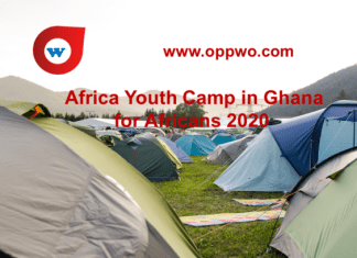 Africa Youth Camp in Ghana for Africans 2020