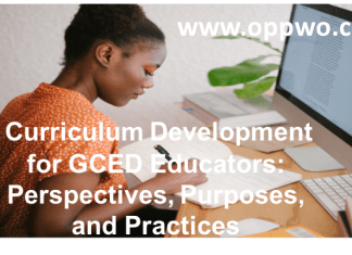 Curriculum Development for GCED Educators: Perspectives, Purposes, and Practices