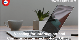 Vacancy for Information and Communication Technology Officer
