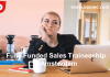Fully Funded Sales Traineeship in Amsterdam