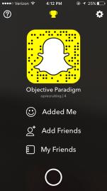 snapchat-objective-paradigm