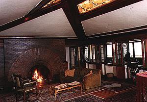 Interior Views Of Arthur B Heurtley House 1902