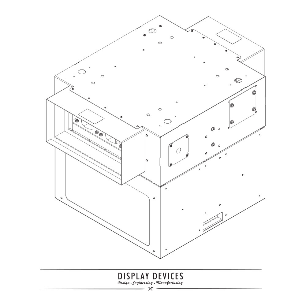 Display Devices SE-B Series Projector Sound Enclosure
