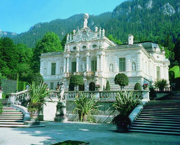 Castelli di Neuschwanstein e Linderhof