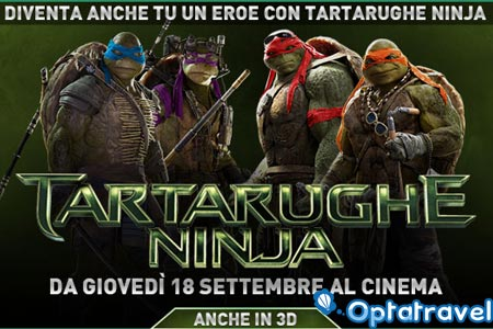 concorso tartarughe ninja