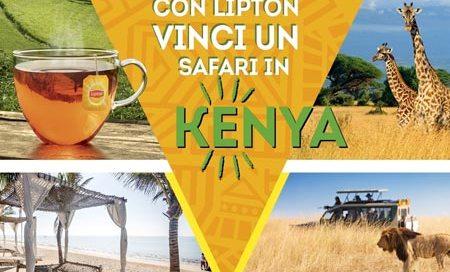 concorso lipton vinci il kenya