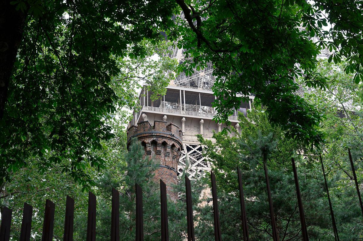 balade dans Paris la tour