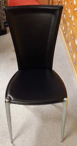 Sure, you hear of someone in florida or las vegas turning in an old plate for thousands of dollars at a dealer, or you see it on tv, but you have no idea if. Italian black leather chairs   Practice Chairs   Fixtures ...