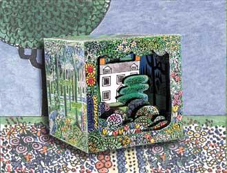 Optical Toys Paper Garden Box
