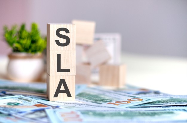 What is SLA in Network Slicing Services?