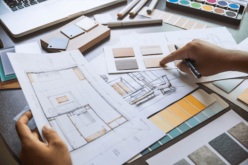 What are the top advantages of hiring professional interior designers and their services?