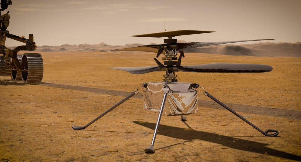 NASA's Ingenuity Mars Helicopter Sent the First Report: What Should You Know - Optic Flux - Optic Flux