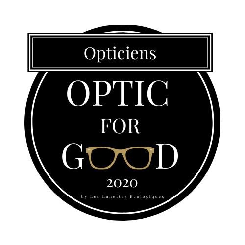 logo opticien labellisé optic for good