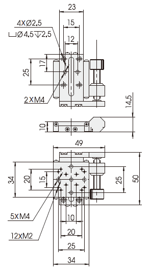 Miniature Linear Stage Translation Stage, Linear Stage