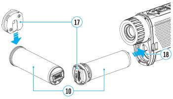 PULSAR AXION XQ38 navodila za uporabo