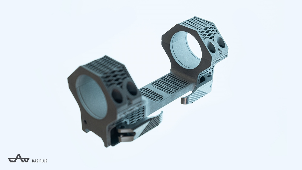 3D-tiskane aluminijaste montaže EAW