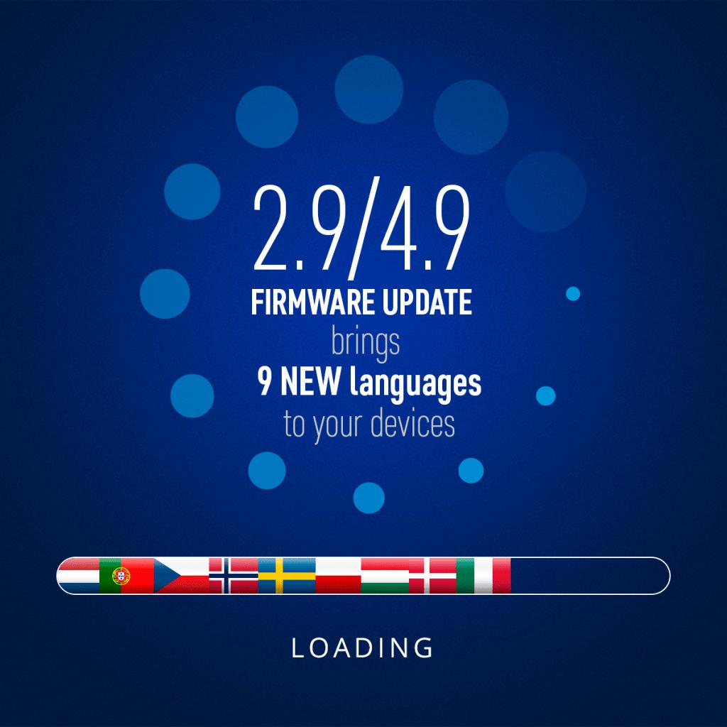 Pulsar dodal nove jezikovne različice