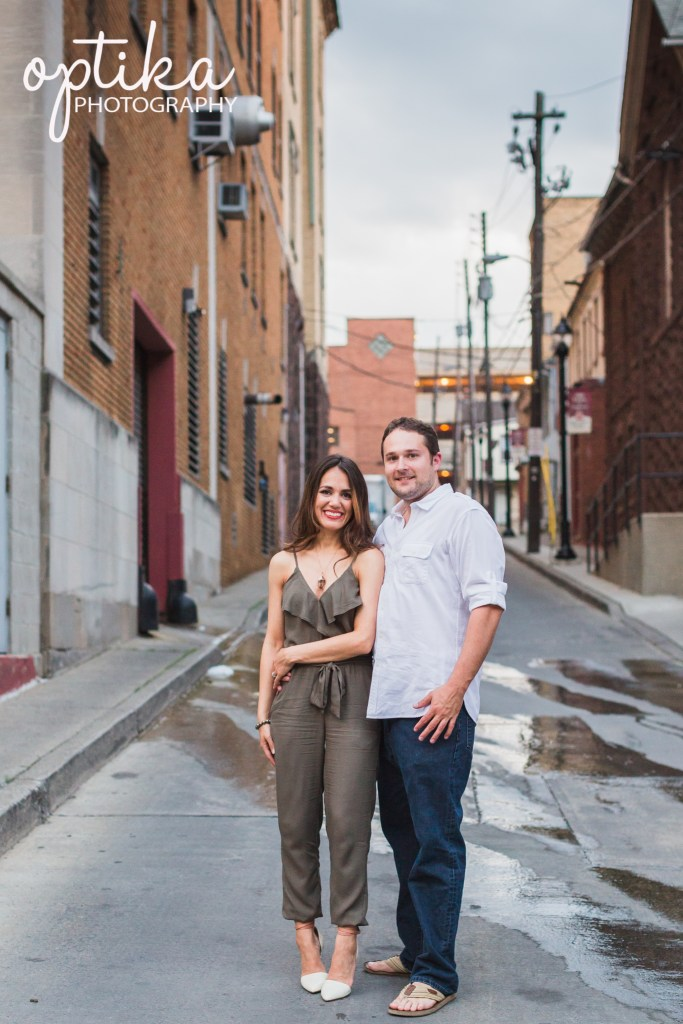 Engagement Session by Optika Photography in Allentown PA