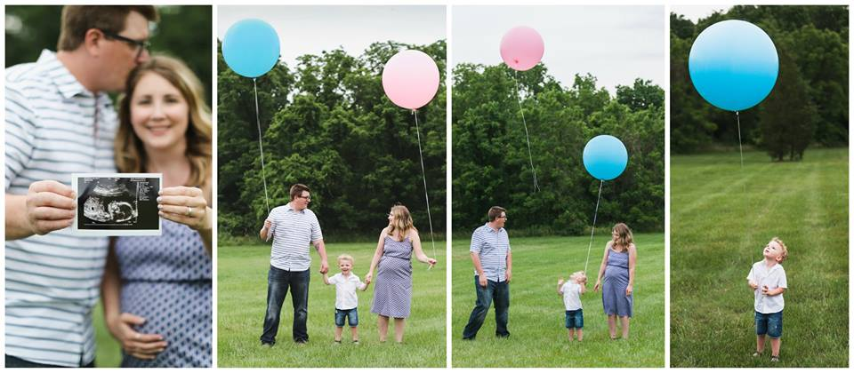 Rittenhouse Gender Reveal by Optika Photography in Franconia, PA