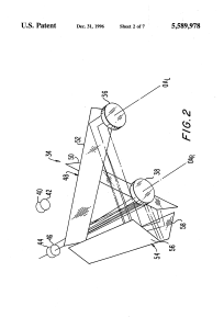 US 5589978 A – Dual-path optical system